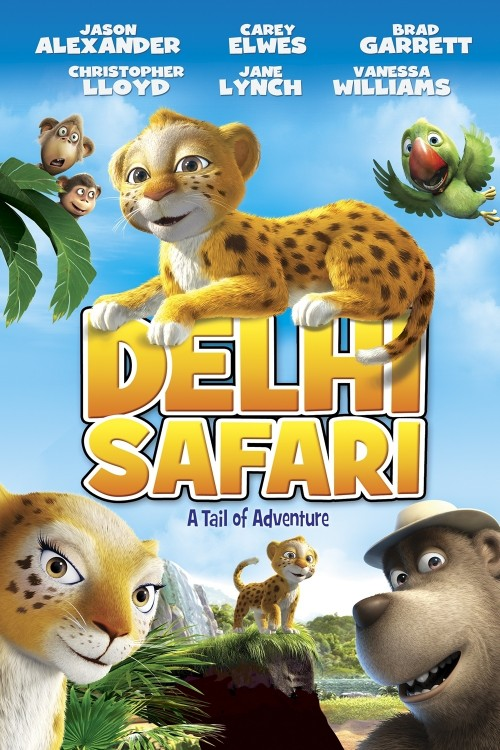 دانلود انیمیشن Delhi Safari 2012 با دوبله فارسی