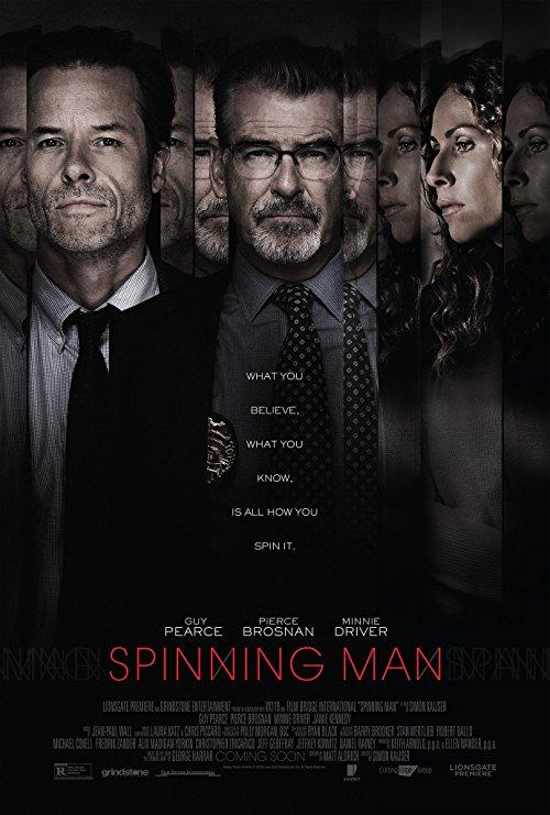 دانلود فیلم Spinning Man 2018 با دوبله فارسی
