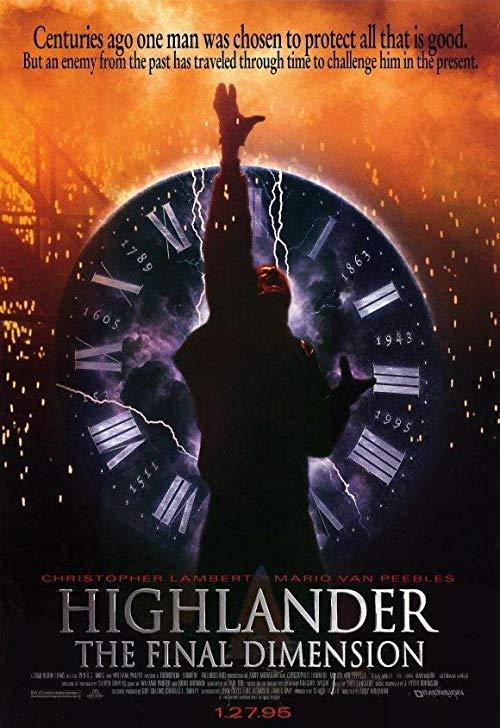 دانلود فیلم Highlander: The Final Dimension 1994 با دوبله فارسی