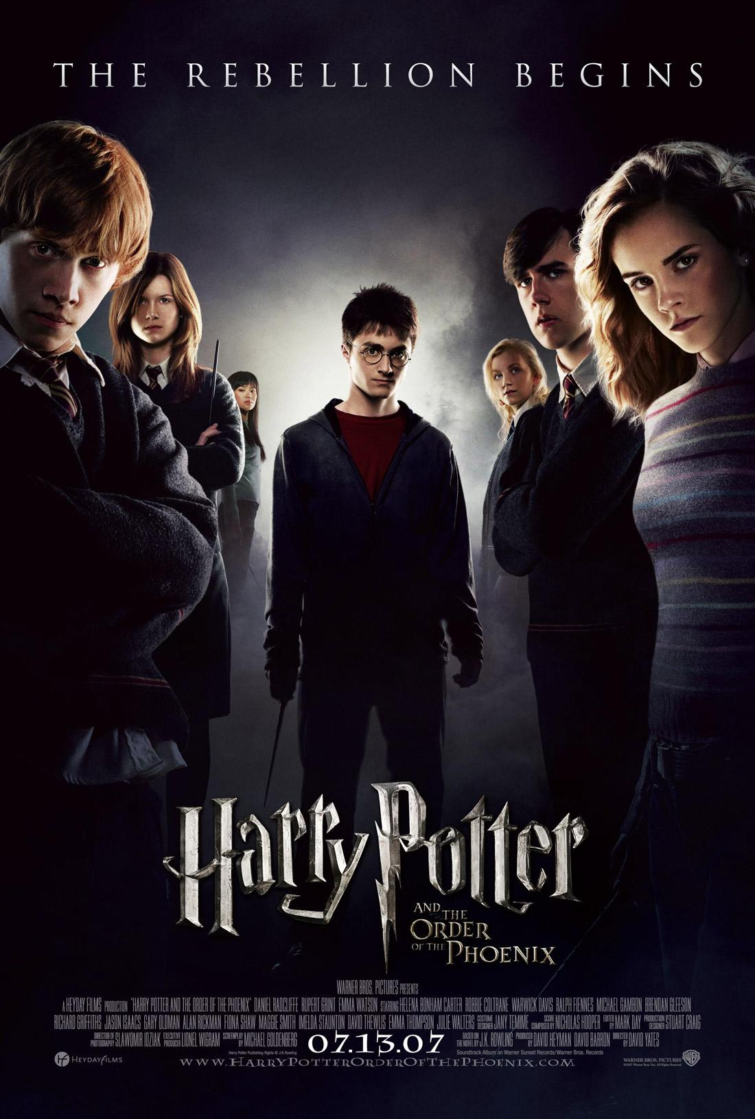 دانلود فیلم Harry Potter and the Order of the Phoenix 2007 با دوبله فارسی