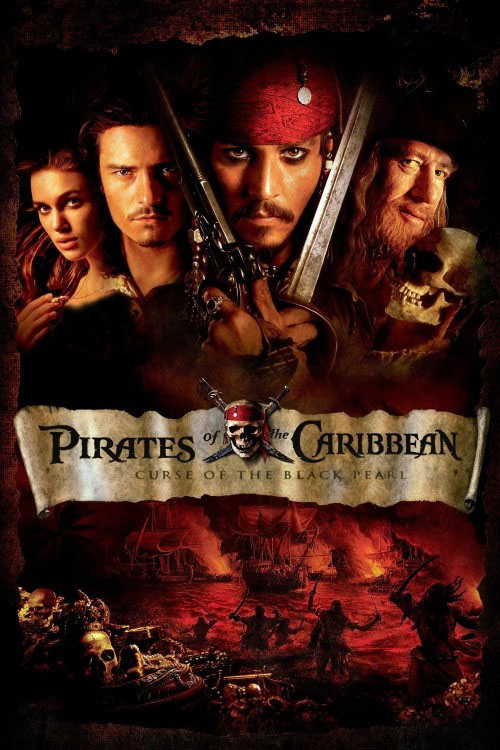 دانلود فیلم Pirates of the Caribbean: The Curse of the Black Pearl 2003 با دوبله فارسی