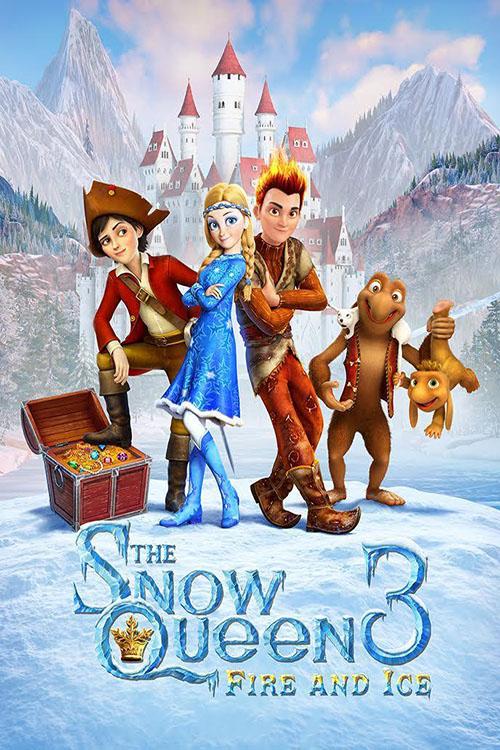 دانلود انیمیشن The Snow Queen 3 2016 با دوبله فارسی