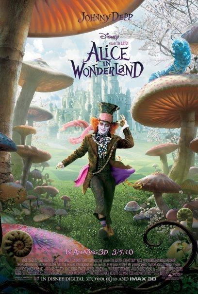 دانلود فیلم Alice in Wonderland 2010 با دوبله فارسی