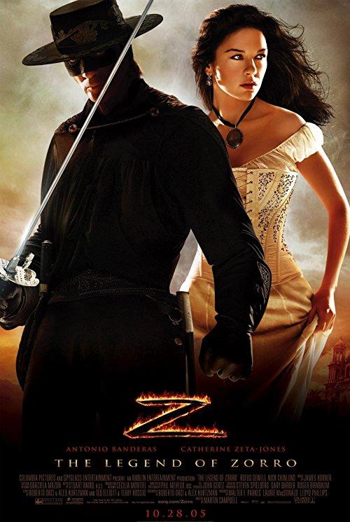 دانلود فیلم The Legend of Zorro 2005 با دوبله فارسی