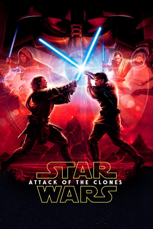 دانلود فیلم Star Wars: Episode II - Attack of the Clones 2002 با دوبله فارسی