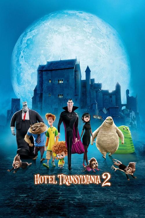 دانلود انیمیشنHotel Transylvania 2 2015 با دوبله فارسی