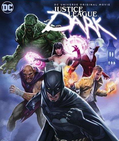 دانلود انیمیشن Justice League Dark 2017 با دوبله فارسی