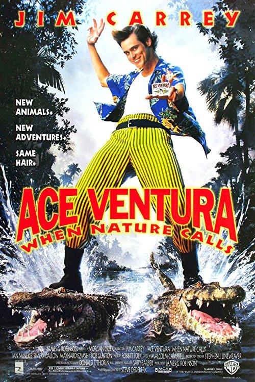 دانلود فیلم Ace Ventura: When Nature Calls 1995 با دوبله فارسی