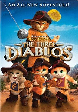 دانلود انیمیشنPuss in Boots: The Three Diablos 2012 با دوبله فارسی