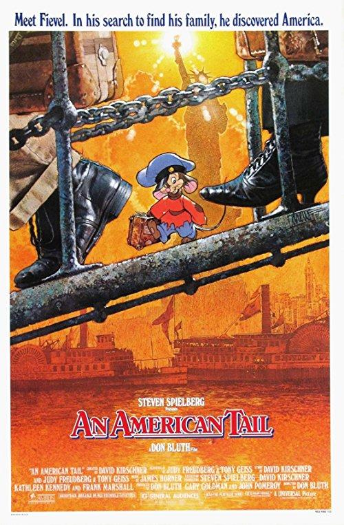 دانلود انیمیشنAn American Tail 1986 با دوبله فارسی
