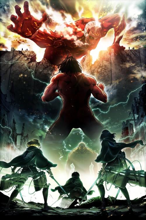 دانلود انیمیشن سریالی Attack on Titan با دوبله فارسی