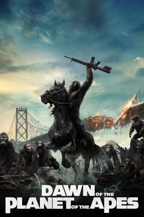 دانلود فیلم Dawn of the Planet of the Apes 2014 با دوبله فارسی
