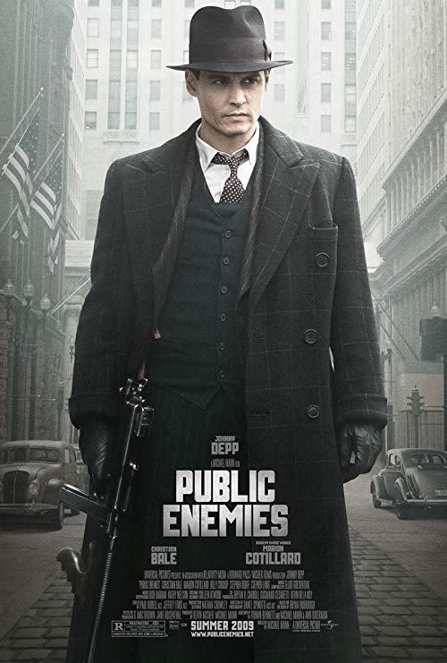دانلود فیلم Public Enemies 2009 با دوبله فارسی