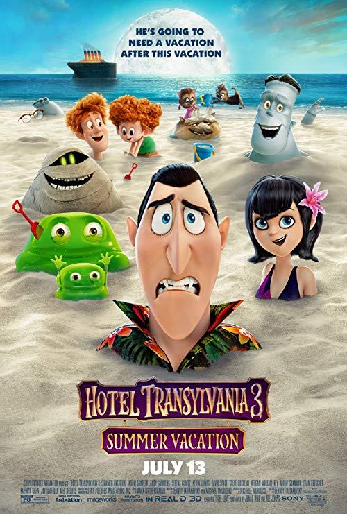 دانلود انیمیشن Hotel Transylvania 3: Summer Vacation 2018 با دوبله فارسی