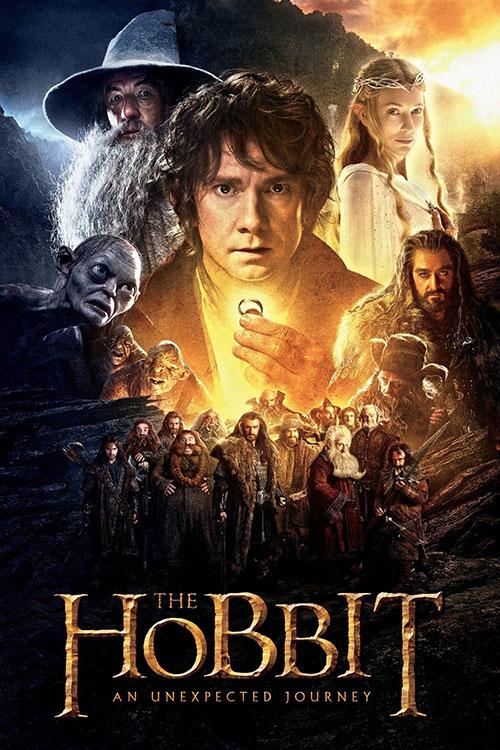 دانلود فیلم The Hobbit: An Unexpected Journey 2012 با دوبله فارسی