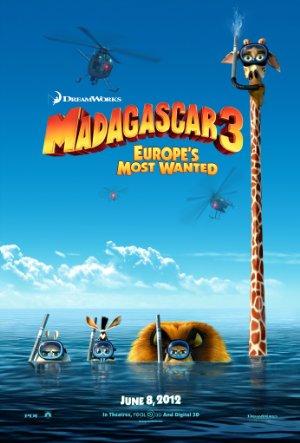 دانلود انیمیشن Madagascar 3: Europe's Most Wanted 2012 با دوبله فارسی