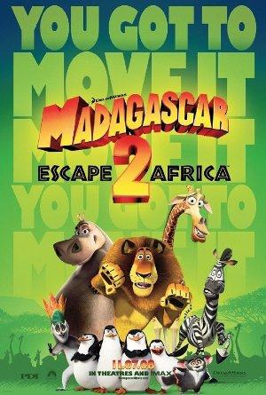 دانلود انیمیشن Madagascar: Escape 2 Africa 2008 با دوبله فارسی