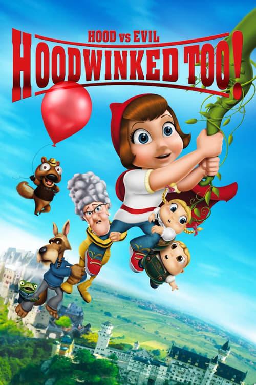 دانلود انیمیشنHoodwinked Too! Hood VS. Evil 2011 با دوبله فارسی