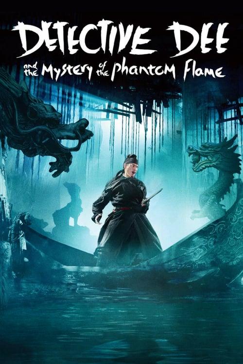 دانلود فیلمDetective Dee and the Mystery of the Phantom Flame 2010 با دوبله فارسی