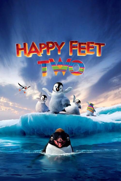 دانلود انیمیشنHappy Feet Two 2011 با دوبله فارسی