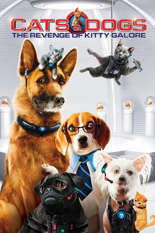 دانلود فیلمCats & Dogs: The Revenge of Kitty Galore 2010 با دوبله فارسی