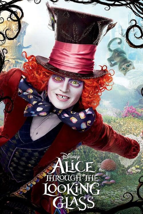 دانلود فیلم Alice Through the Looking Glass 2016 با دوبله فارسی