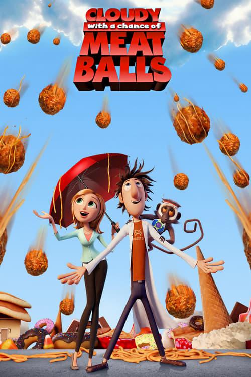دانلود انیمیشنCloudy with a Chance of Meatballs 2009 با دوبله فارسی