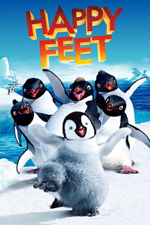 دانلود انیمیشنHappy Feet 2006 با دوبله فارسی