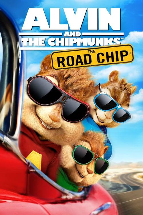 دانلود انیمیشن Alvin and the Chipmunks: The Road Chip 2015 با دوبله فارسی