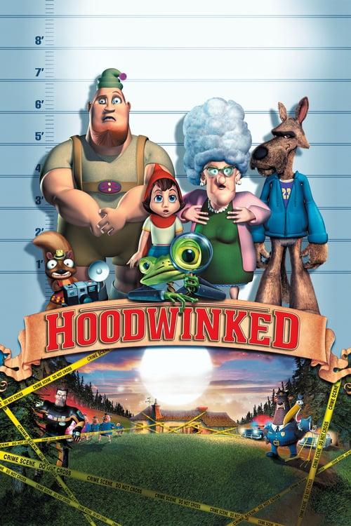 دانلود انیمیشنHoodwinked! 2005 با دوبله فارسی