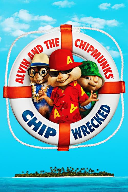 دانلود انیمیشن Alvin and the Chipmunks: Chipwrecked 2011 با دوبله فارسی
