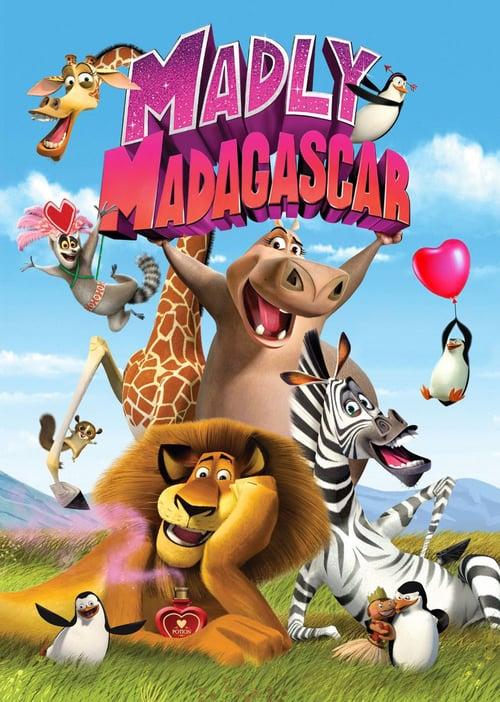دانلود انیمیشنMadly Madagascar 2013 با دوبله فارسی
