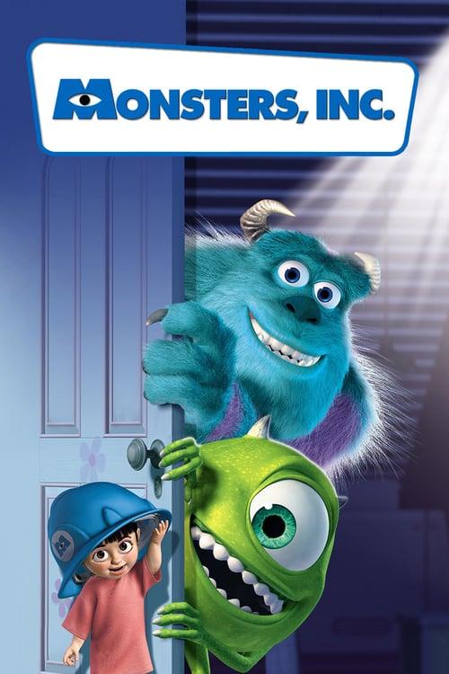 دانلود انیمیشن Monsters Inc. 2001 با دوبله فارسی