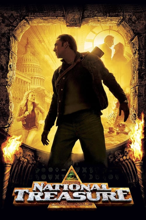 دانلود فیلمNational Treasure 2004 با دوبله فارسی