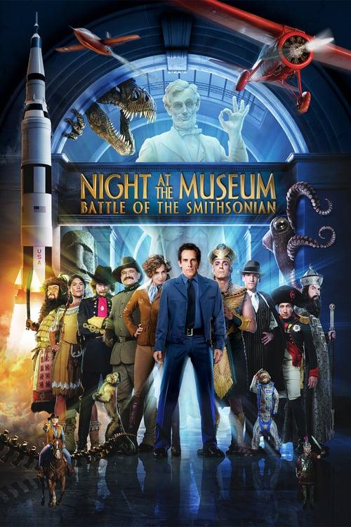 دانلود فیلمNight at the Museum: Battle of the Smithsonian 2009 با دوبله فارسی