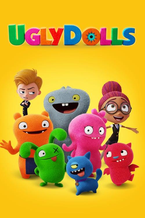 دانلود انیمیشنUglyDolls 2019 با دوبله فارسی