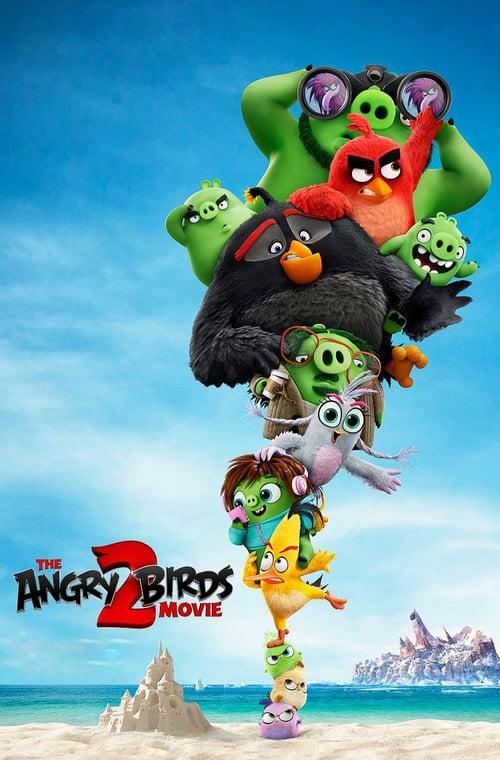دانلود انیمیشن The Angry Birds Movie 2 2019 با دوبله فارسی
