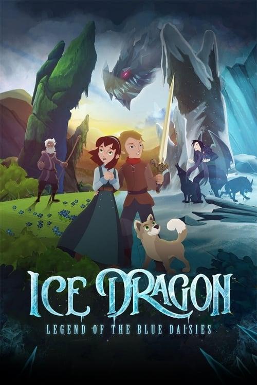 دانلود انیمیشن Ice Dragon: Legend of the Blue Daisies 2018 با دوبله فارسی