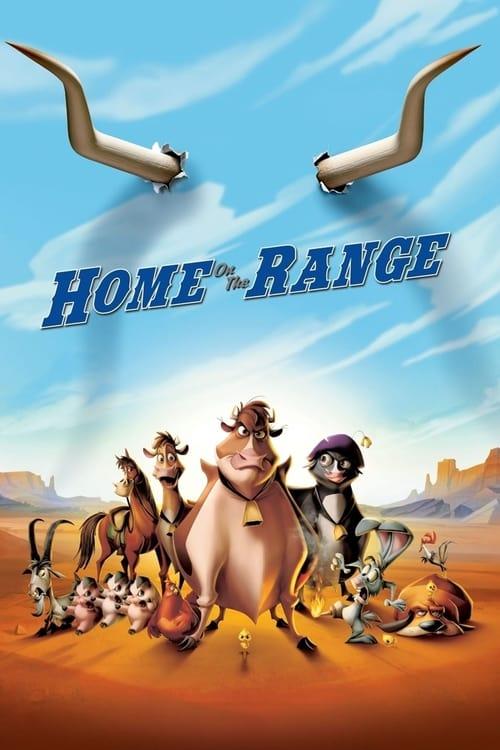 دانلود انیمیشنHome on the Range 2004 با دوبله فارسی