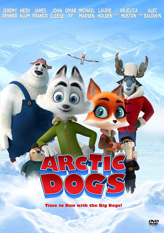دانلود انیمیشنArctic Dogs 2019 با دوبله فارسی
