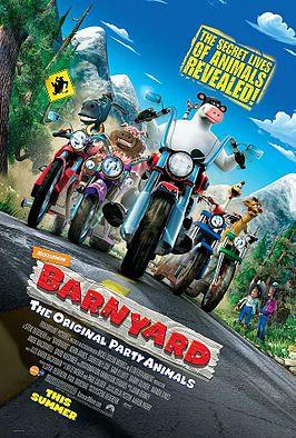 دانلود انیمیشنBarnyard 2006 با دوبله فارسی