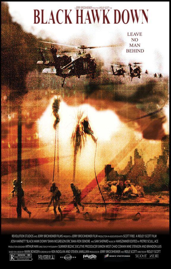 دانلود فیلمBlack Hawk Down 2001 با دوبله فارسی