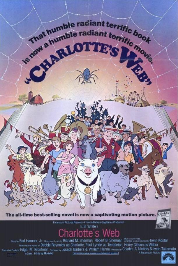 دانلود انیمیشنCharlotte's Web 1973 با دوبله فارسی