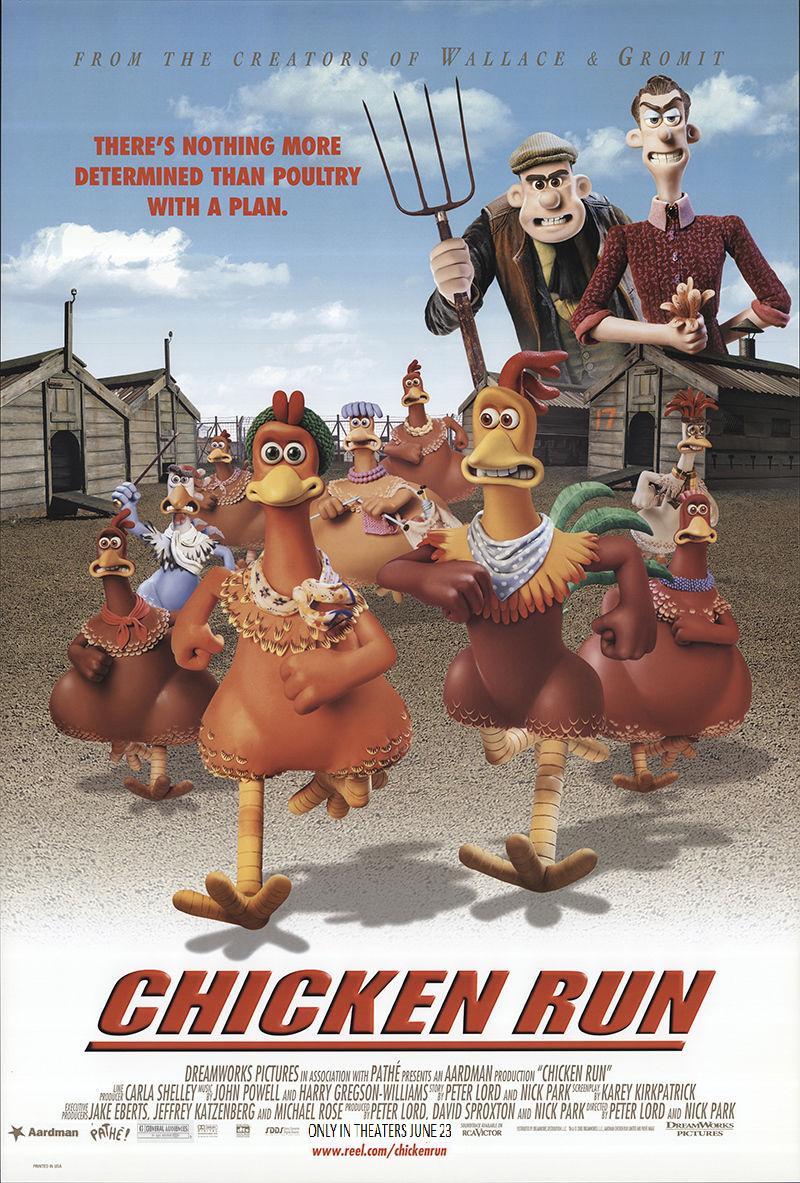 دانلود انیمیشنChicken Run 2000 با دوبله فارسی