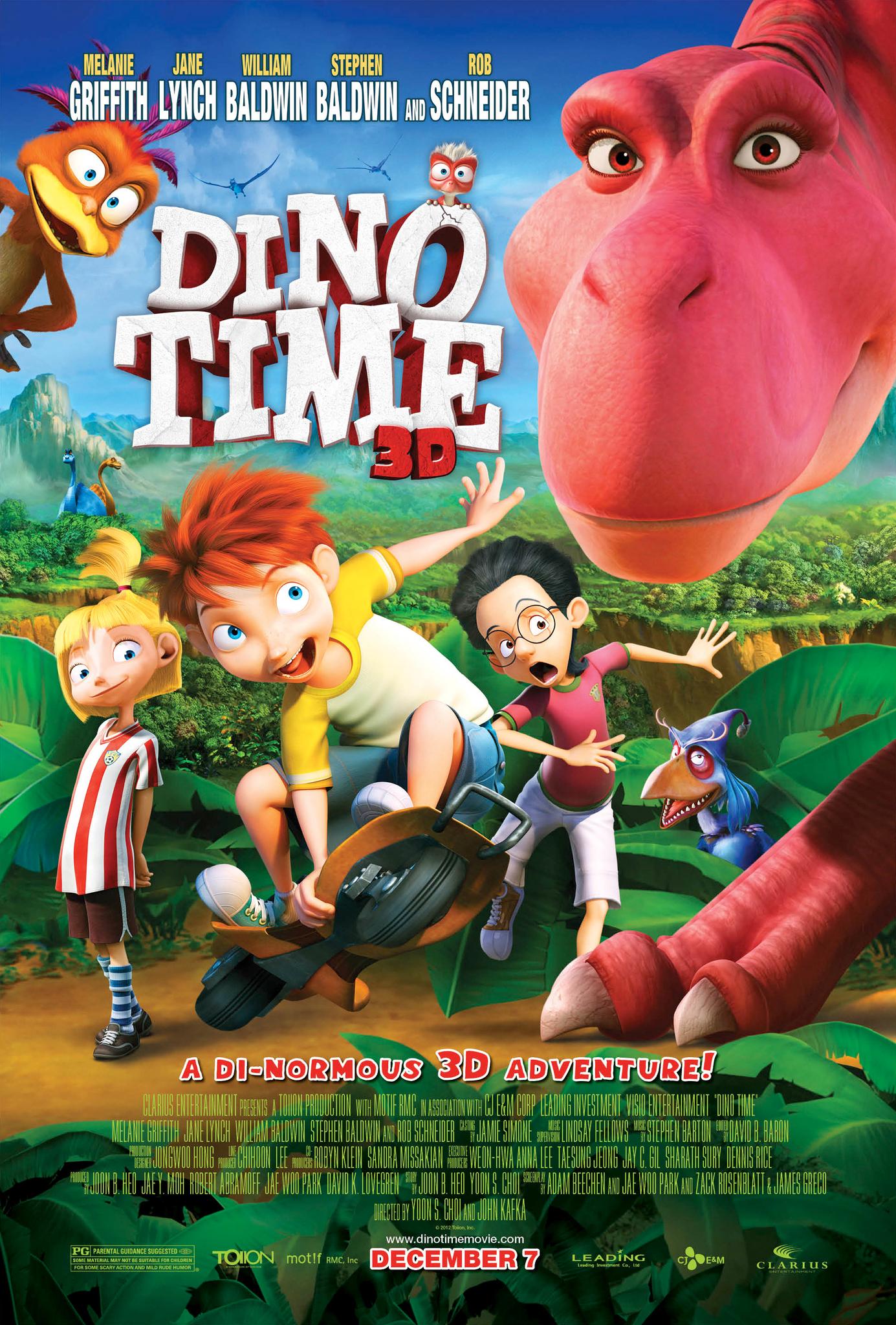 دانلود انیمیشنDino Time 2012 با دوبله فارسی