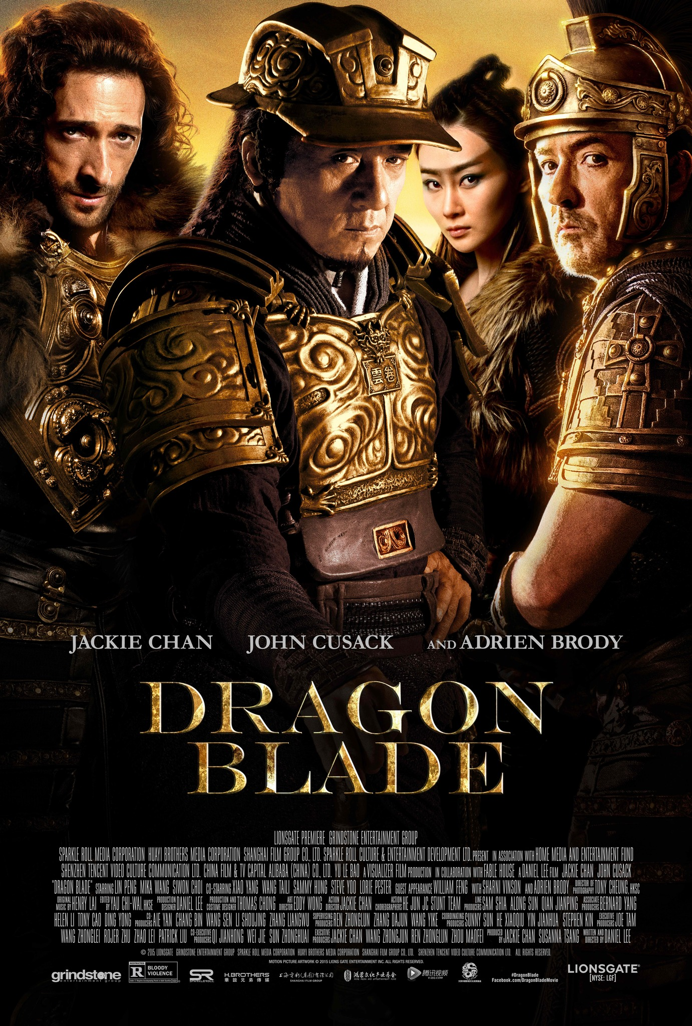 دانلود فیلمDragon Blade 2015 با دوبله فارسی