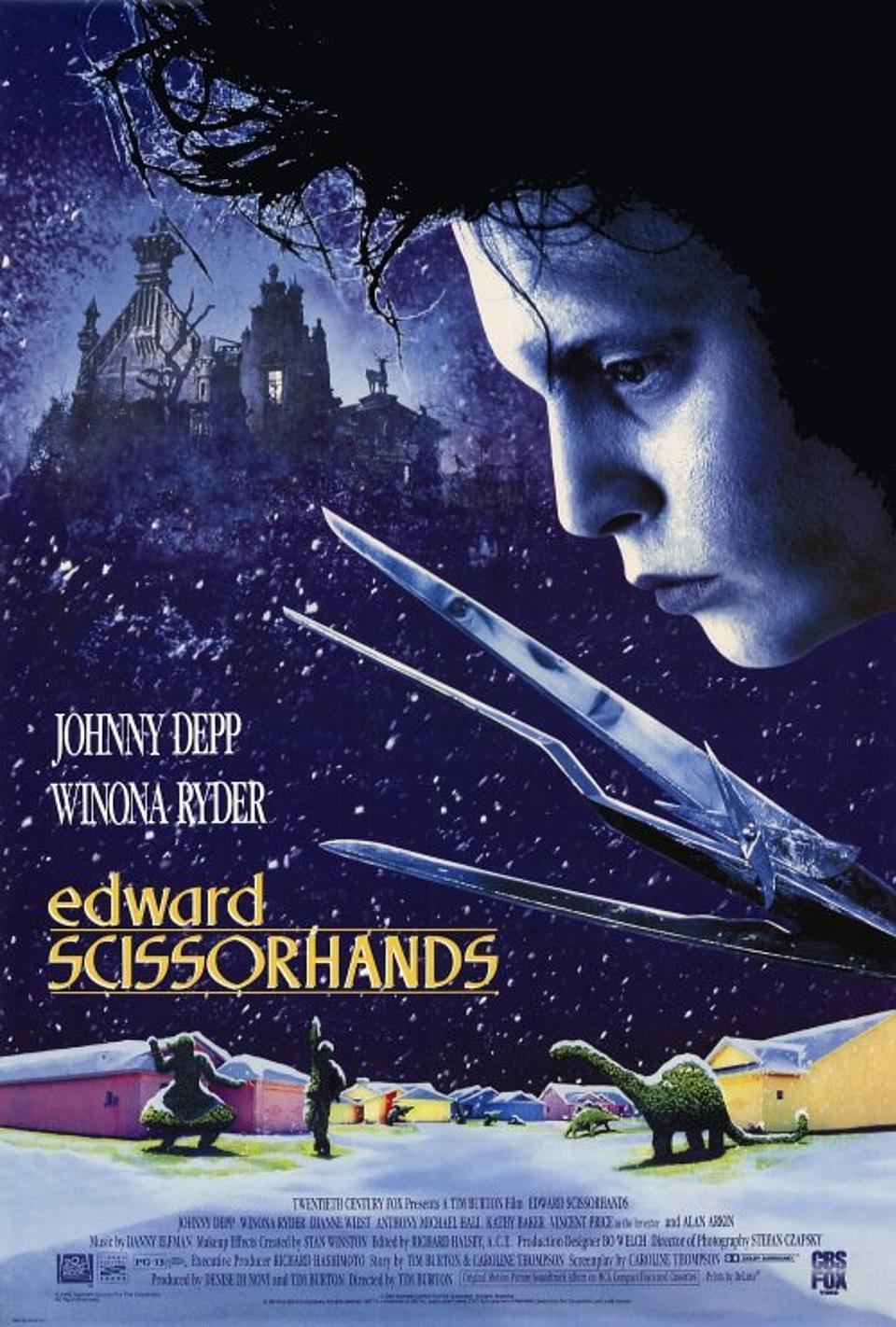 دانلود فیلمEdward Scissorhands 1990 با دوبله فارسی