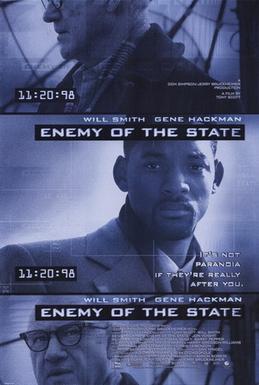 دانلود فیلمEnemy of the State 1998 با دوبله فارسی