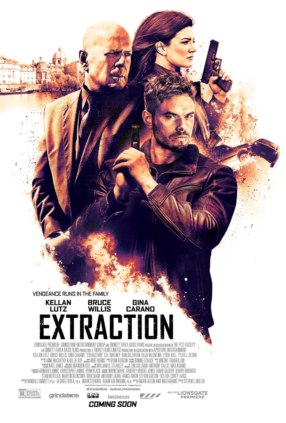 دانلود فیلمExtraction 2015 با دوبله فارسی