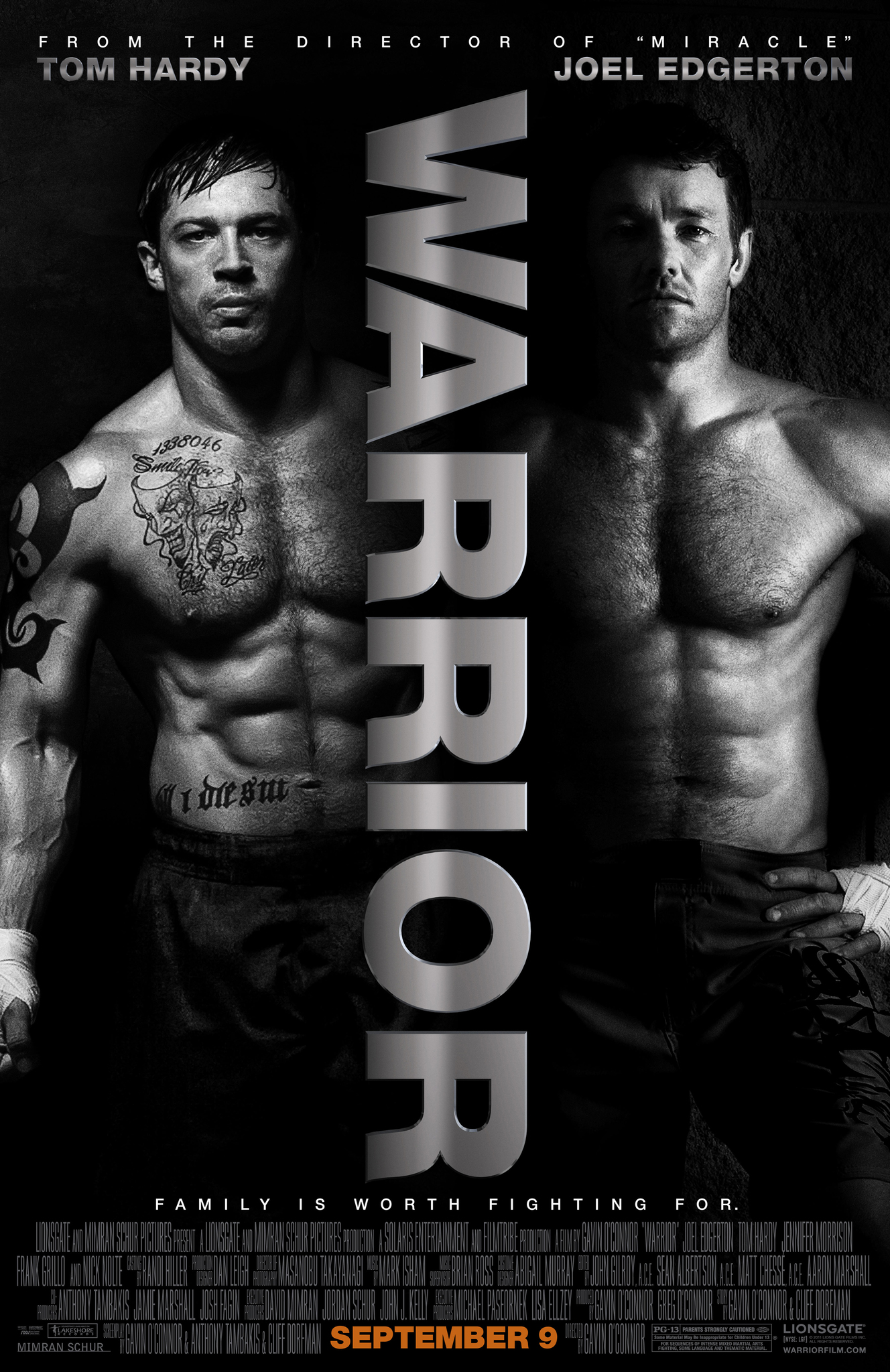 دانلود فیلمWarrior 2011 با دوبله فارسی
